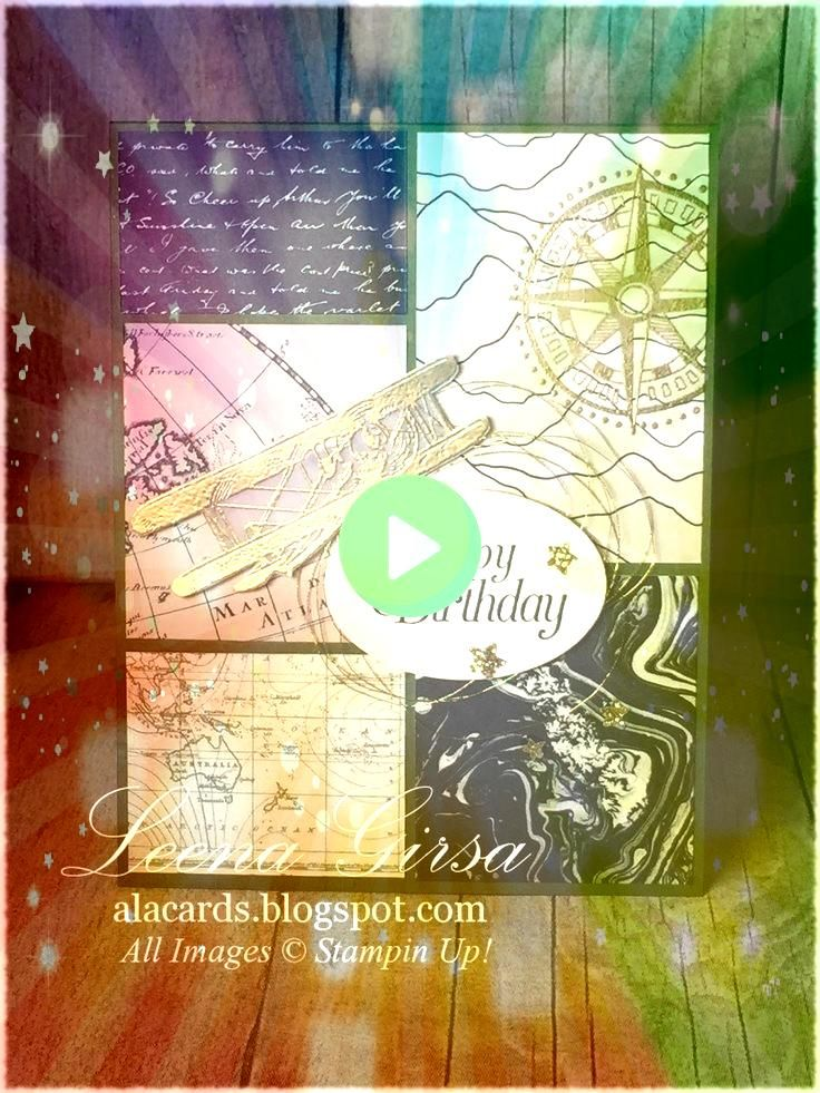 is the Limit Stampin Up Sale a Bration Sky is the Limit I used Crumb Cake and Basic Black card stock Also used Going Places DSP Going Places embossing folder and Sweethea...