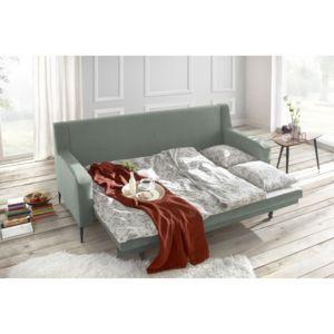 BOBOCHIC Canapé BERGEN Places Convertible Menthe Cm X - Canapé 3 places pour chambre a coucher idee