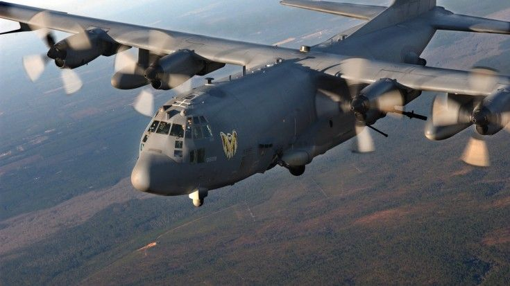 See The Massive Firepower Of The AC-130 Bringing Terror To The Terrorists | World War Wings Videos