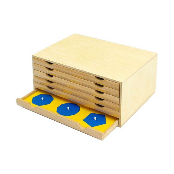 Geometric Cabinet from Montessori Outlet $142.95 | Montessori ...