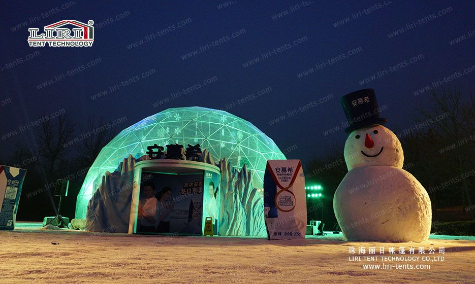 Dome tent & LIRI geodesic half sphere dome tent contact:Ira Wu email:sales ...