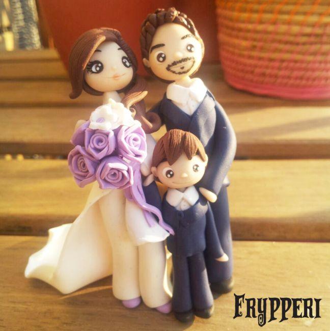 Wedding Cake Topper #caketopper #wedding #marriage #happy www.facebook.com/frypperi www.frypperi.it www.etsy.com/shop/Frypperi