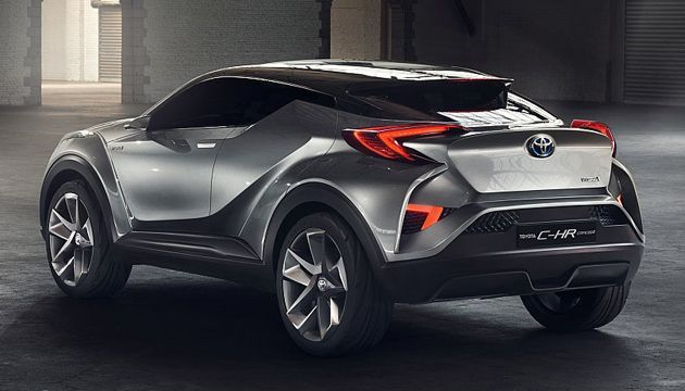 toyota c-hr concept rear @vedrinamostar #vedrinamostar | cars and