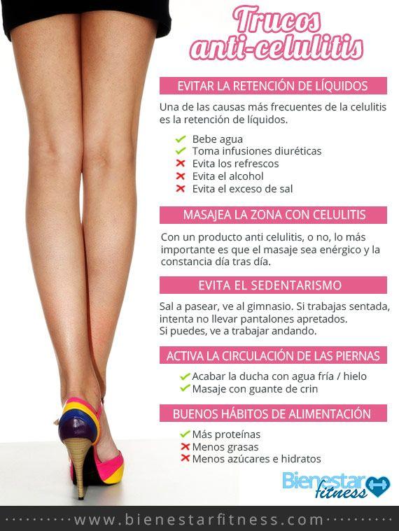 tips para eliminar celulitis de las piernas