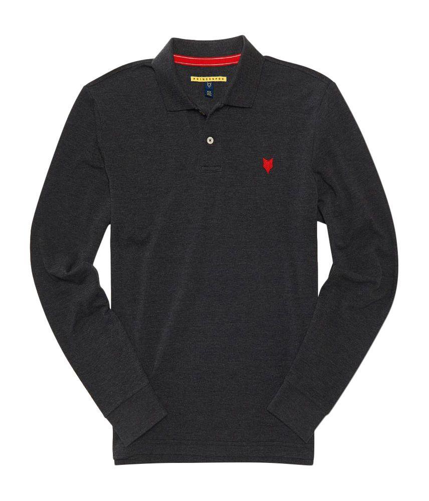 9a45da278 ORIGINAL Aeropostale mens prince   fox solid pique polo shirt BLACK ...