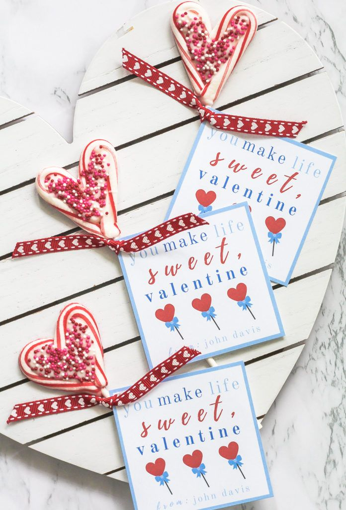 free valentines day printable card tag in 2019 ...