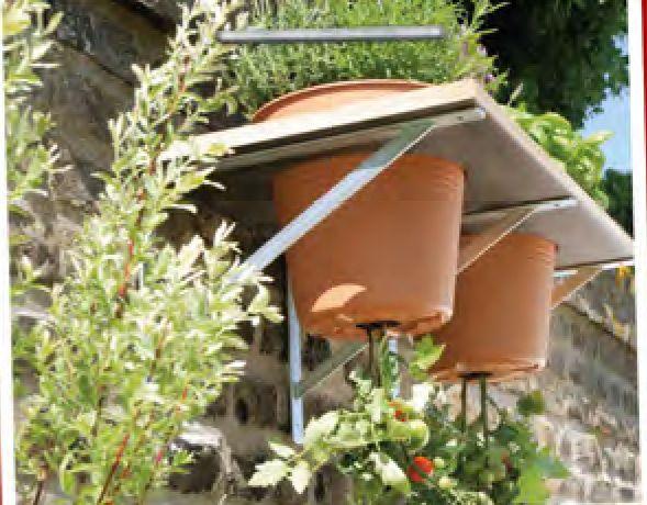 upside down tomatentopf gardening pinterest garten garten ideen und gem segarten. Black Bedroom Furniture Sets. Home Design Ideas