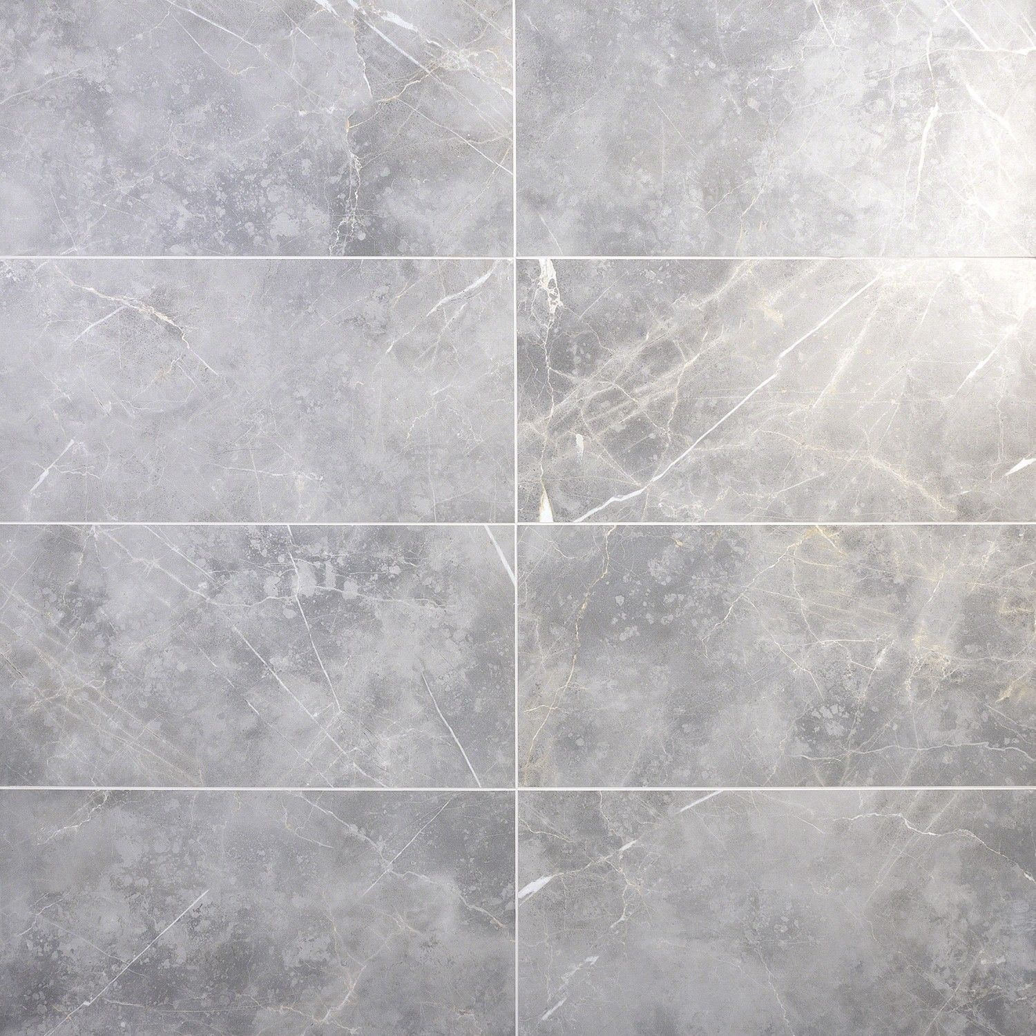 Marble Tech Grigio Imperiale 12x24 Matte Porcelain Tile In 2020 Polished Porcelain Tiles Porcelain Tile Marble Look Tile