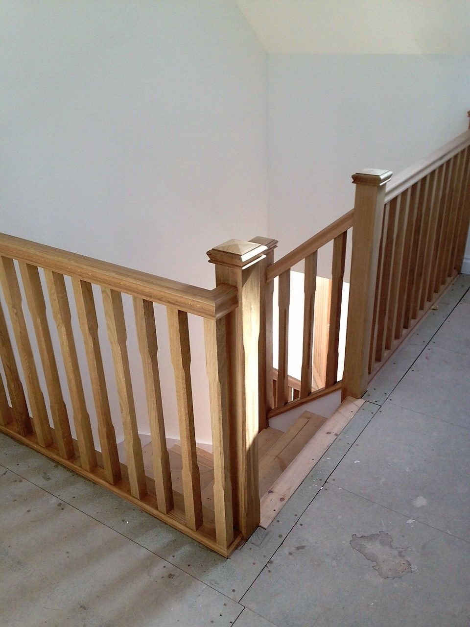Best Oak Loft Balustrade Oak Stairs Stair Spindles Loft Railing 400 x 300