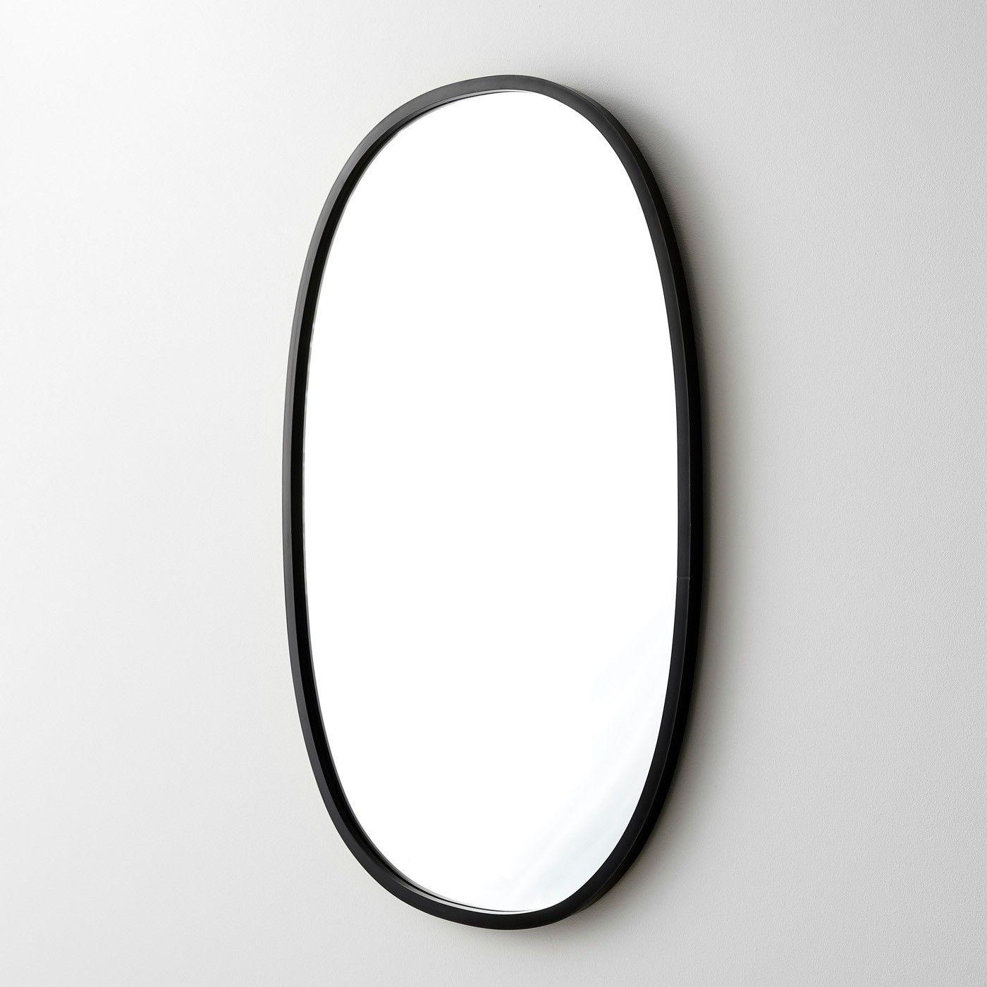 Hub Black Oval Wall Mirror 18 X 24 Oval Mirror Mirror Wall Oval Wall Mirror [ 1400 x 1400 Pixel ]