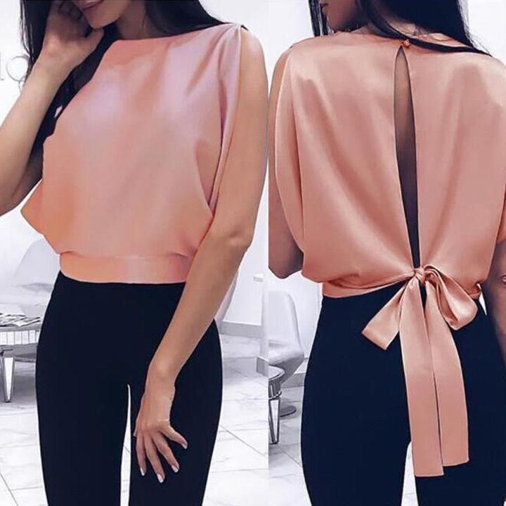 Ladies Casual Blouse Fashion Shirt
