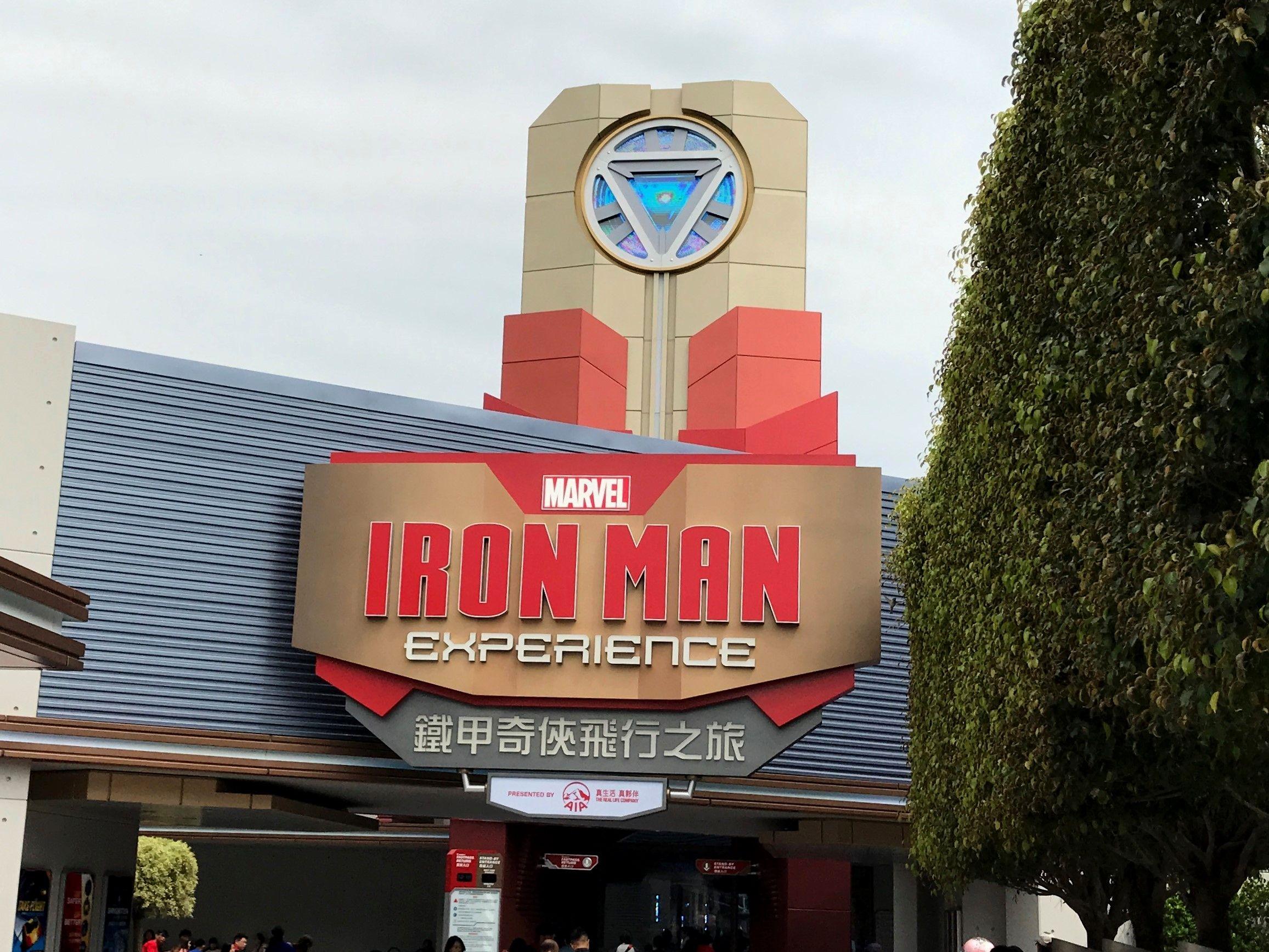 Marvel Iron Man Hong Kong Travel Broadway Shows