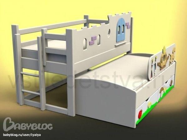 выдвижная кровать для двоих детей - Поиск в Google