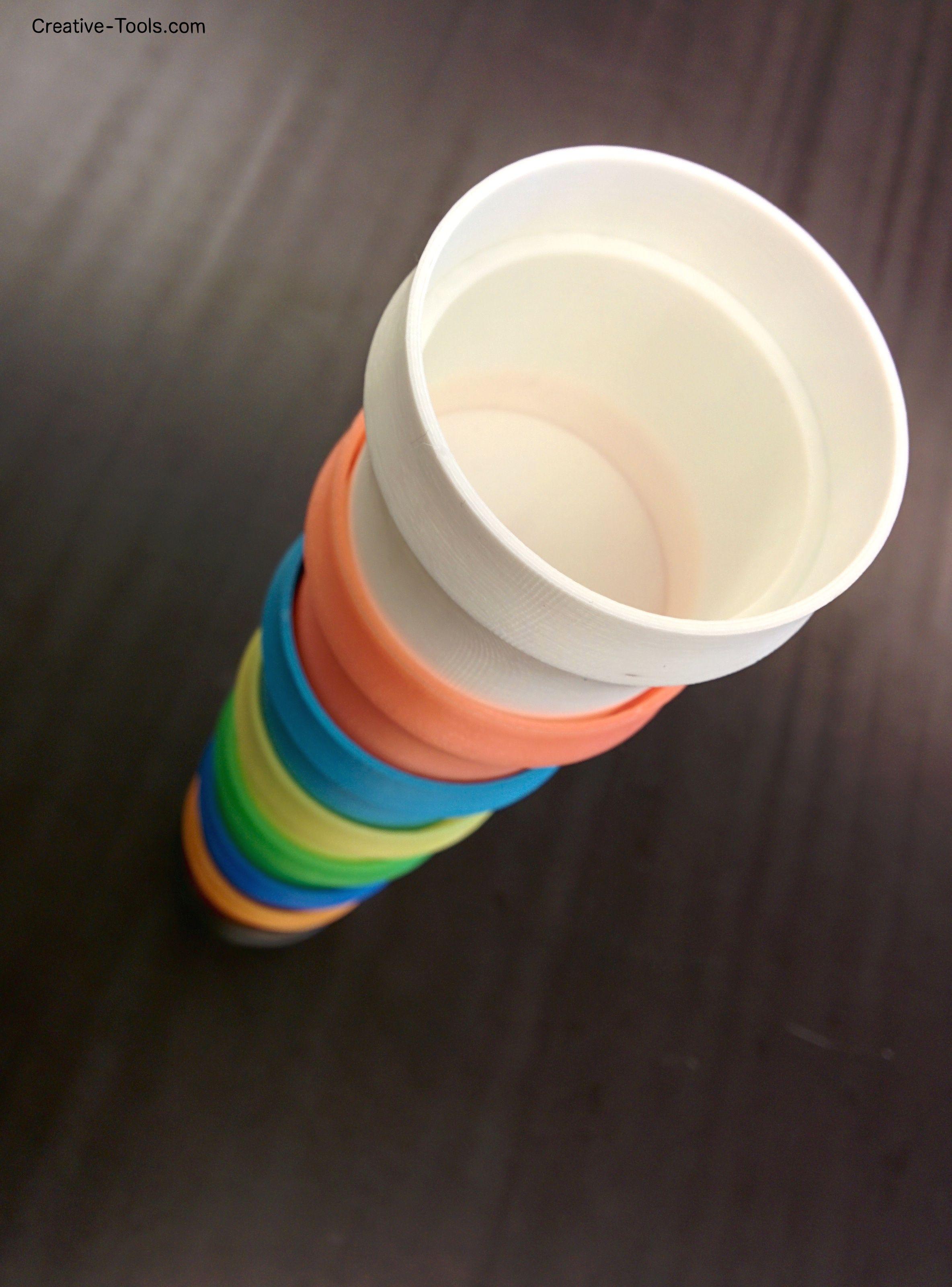 The 3D-model: www youmagine com/designs/stackable-cup The 3D-printer