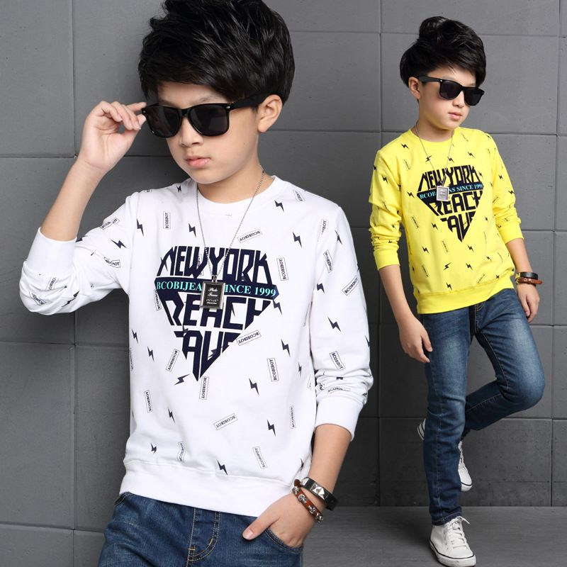 3a470ada7 2017 spring designer boys sweatshirt cotton t shirt for boys clothes autumn boys  clothes Kids children printing sweater shirt //Price: $ // #baby