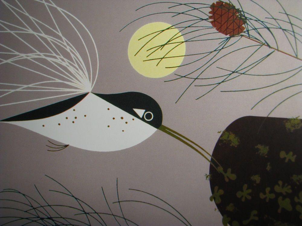 charley harper-hummingbird.   bird illustrations   Pinterest ...