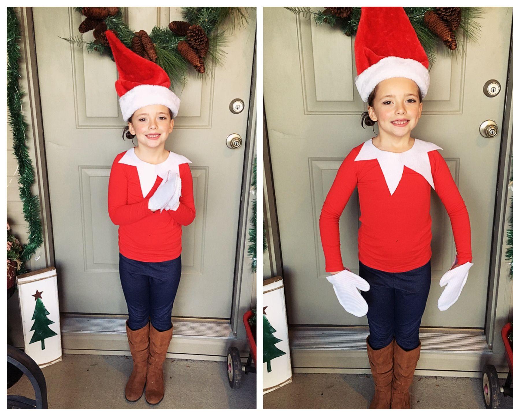 Elf on the Shelf Costume DIY Christmas Movie Character Day