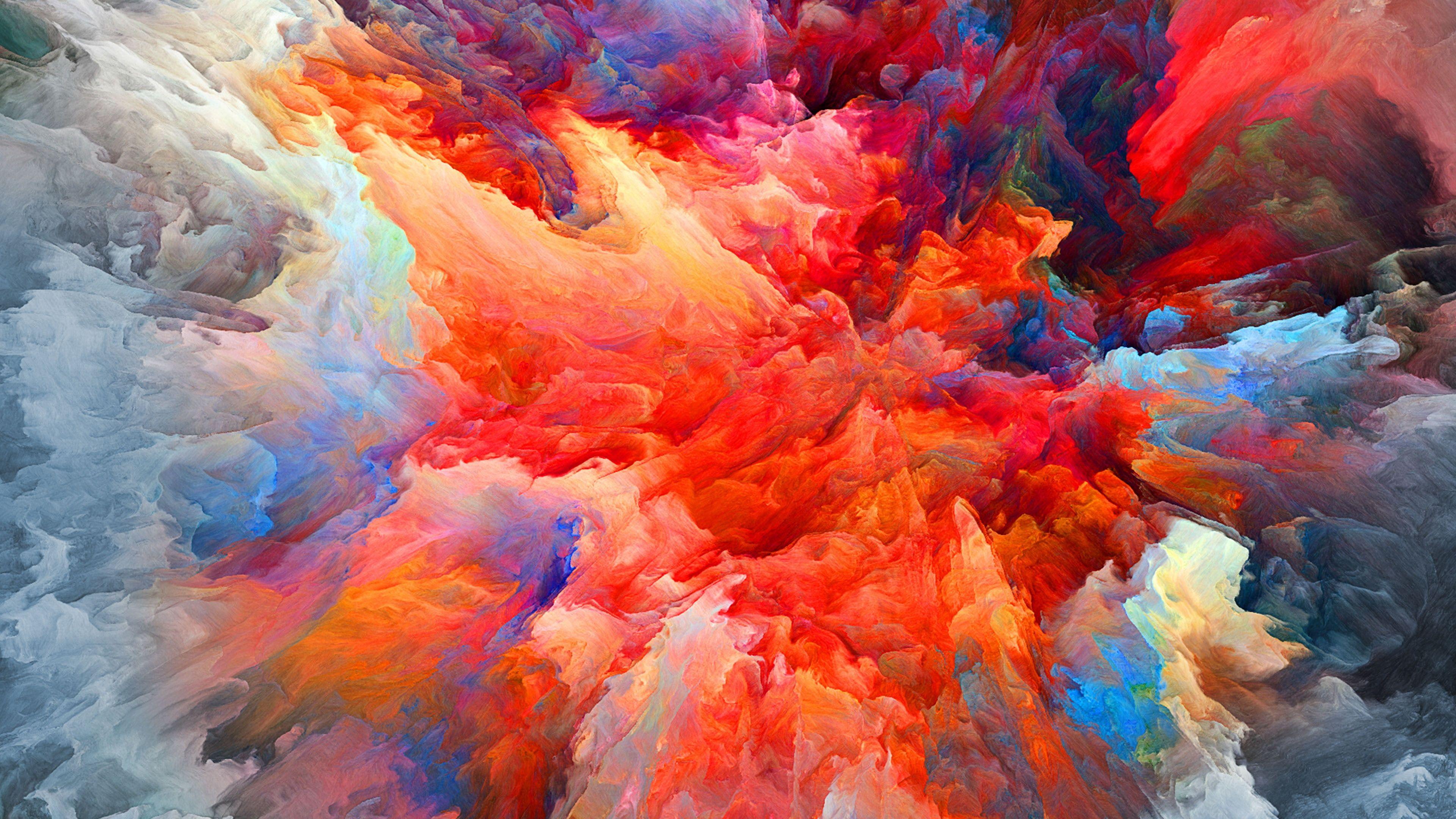Painting Colors Art Modern Art Sky Paint 4k Wallpaper Hdwallpaper Desktop Painting Wallpaper Painting Colorful Wallpaper