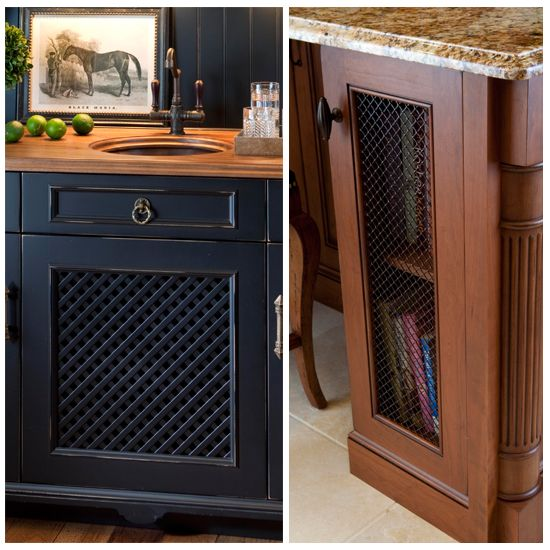 Unique and Exotic Ideas for Kitchen Cabinet Door Inserts ...