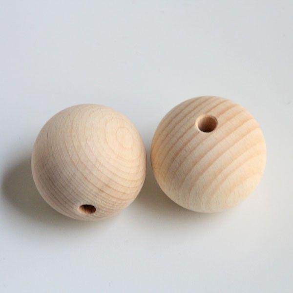 Bolas de madera natural de 50mm para hacer manualidades y decoraci n puedes pintar las bolas de Bolas de madera para manualidades