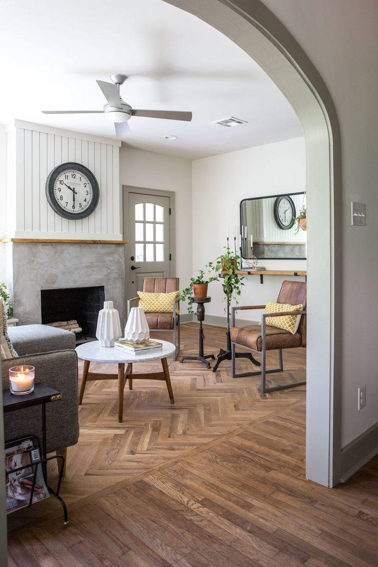 Episode 15 The Giraffe House Fixer Upper Living Room Wood