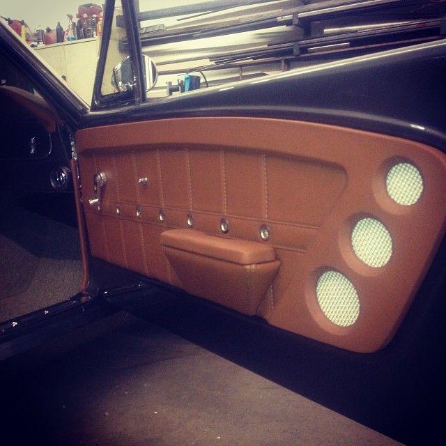 1965 Mustang Fastback Interior Custom Car Interior Mustang Interior Car Upholstery