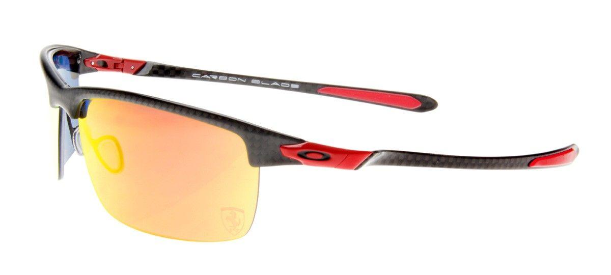 c7fa3a06d78f9 oakley holbrook lente vermelha espelhada