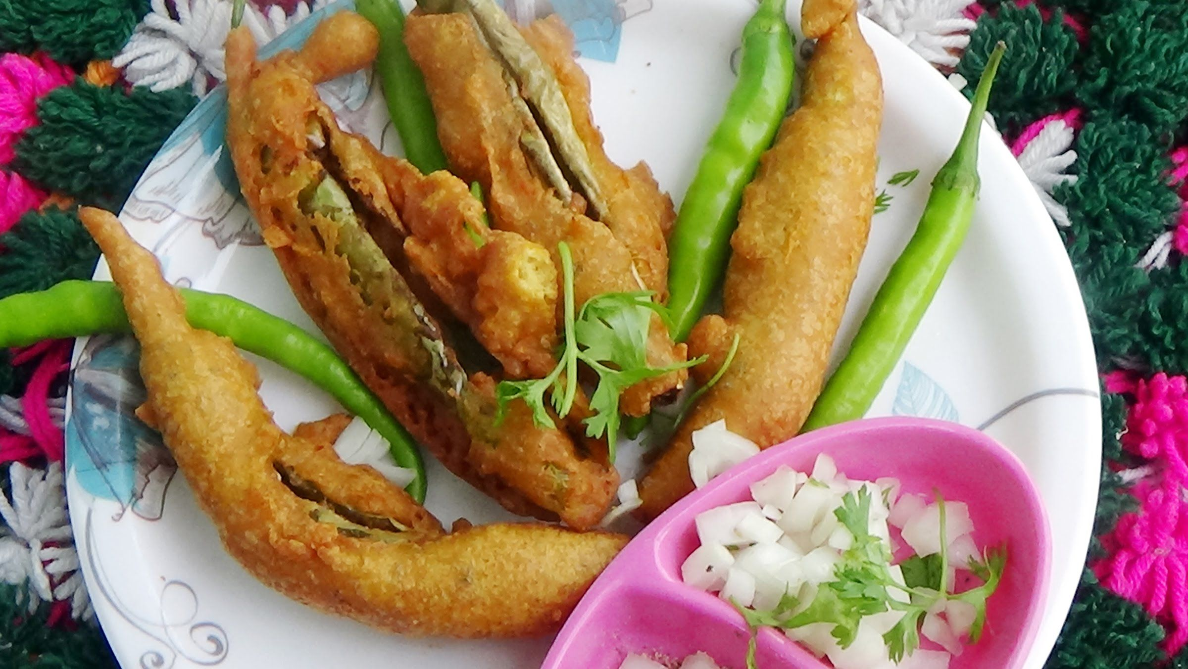 Easy simple street food style mirchi bajji in telugu green easy simple street food style mirchi bajji in telugu green mirchi ba forumfinder Image collections