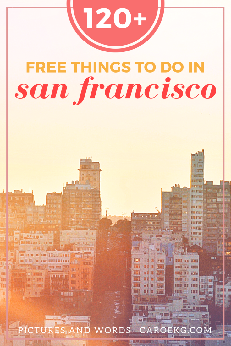 101 free things to do in san francisco