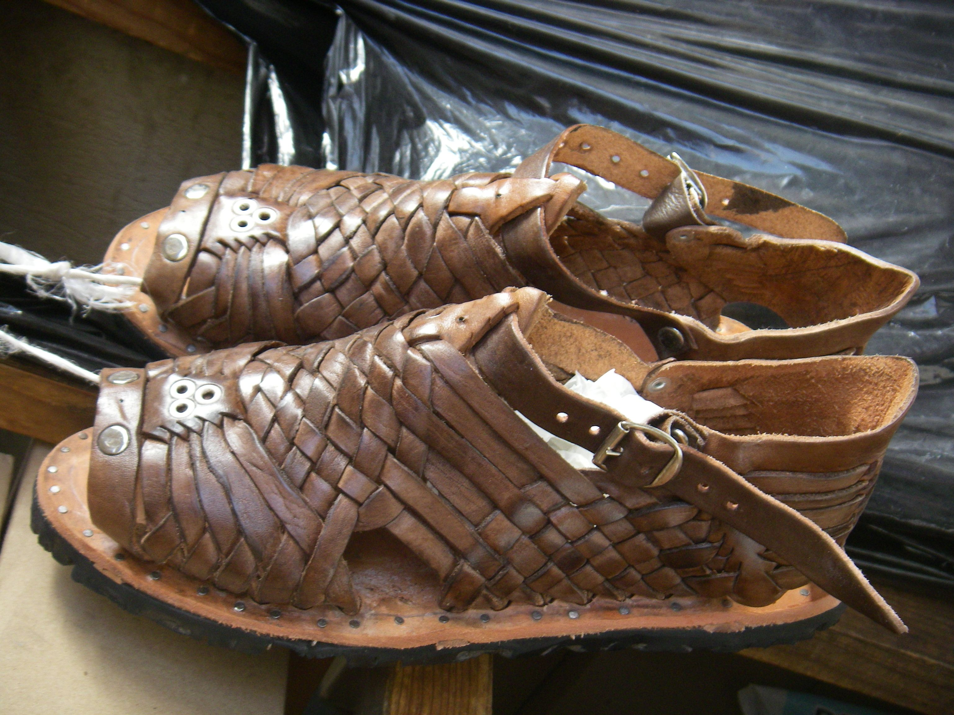 4c8d4e84e029 My beloved huaraches with tire soles from the 70 s. We even wore them in the