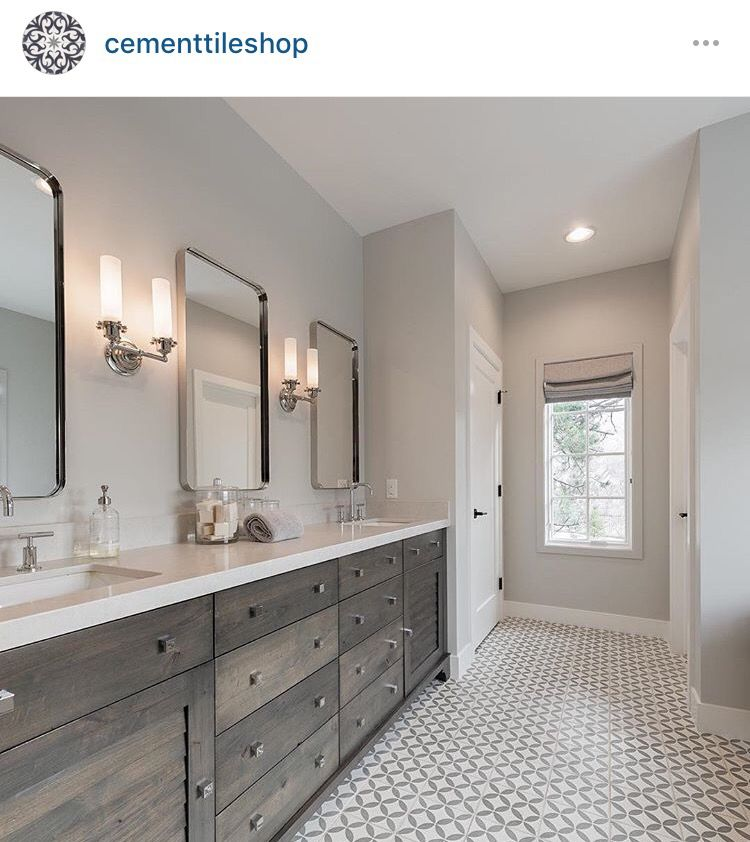 Circulos Grey II - the cement tile shop | Cement tiles | Pinterest ...