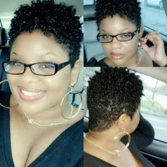 Tapered Natural Twa For Round Face | NEW SHORT HAIRSTYLES FOR 2015