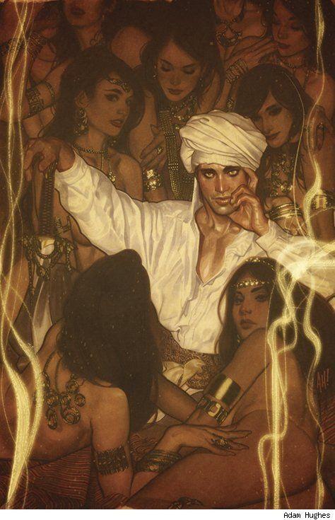Fairest by Adam Hughes | persian stuff | Adam hughes, Art