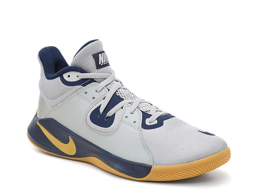 Nike Fly By Mid Basketball Shoe - Men's