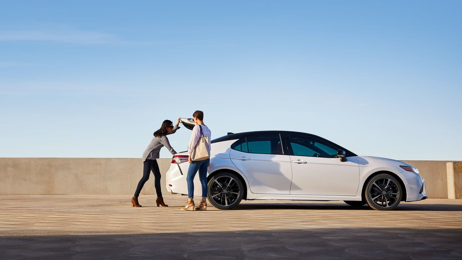 View Toyota Camry exterior photos and get ready to elevate