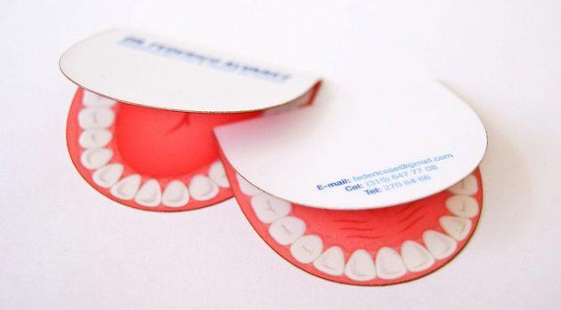 Die Passende Visitenkarte Für Einen Zahnarzt Klonblog