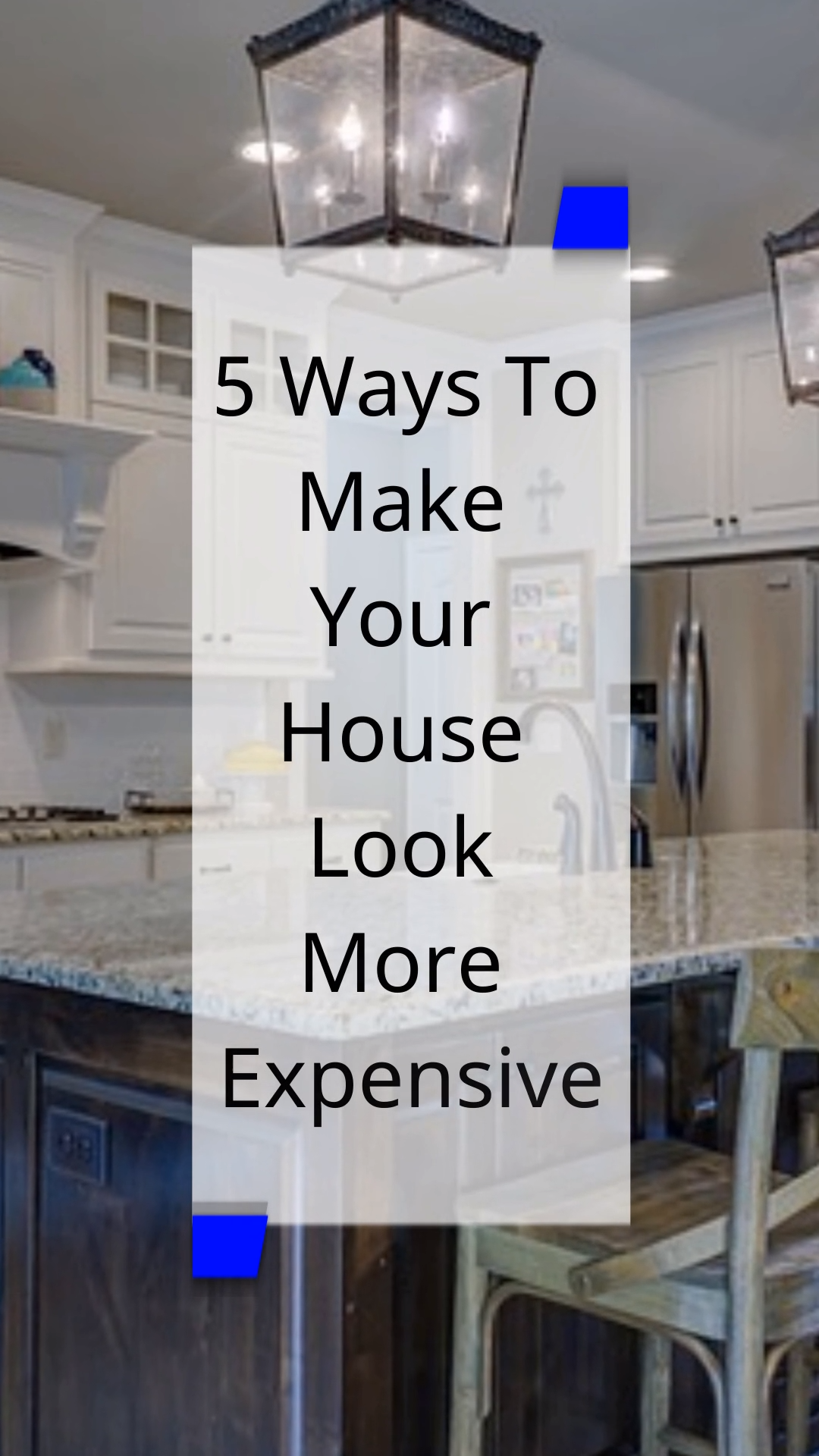 When I bought my new builder grade house I was on a budget but I still wanted those luxury touches. I was able to upgrade it with these simple home decor ideas that don't have to cost a lot of money. Click through to learn more interior decorating tips for making your house look more expensive.