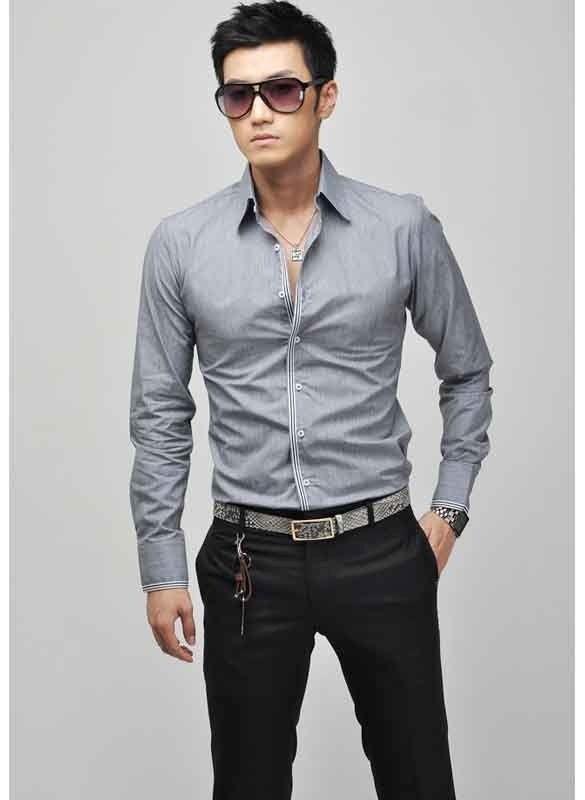 188fe67fd4 Camisas De Hombre Moda Asiatica