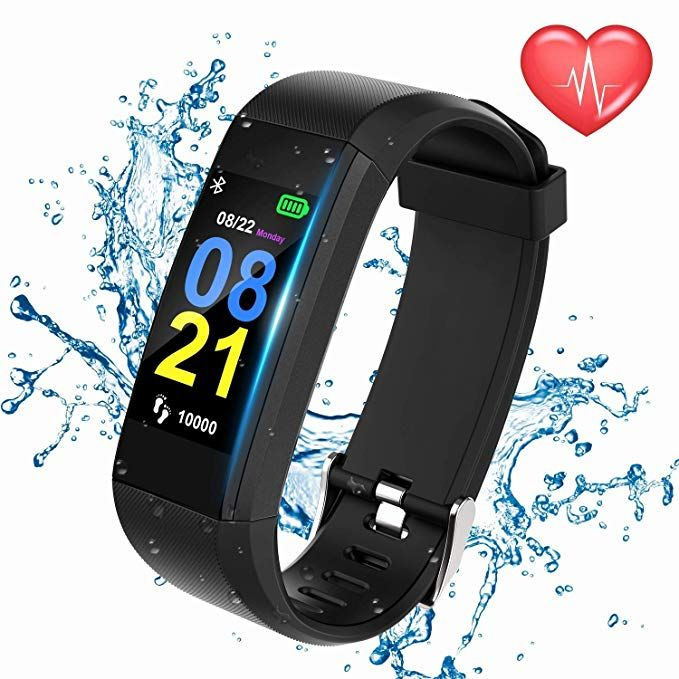 Swimmaxt Fitness Tracker Watch, Smart Fitness Band with