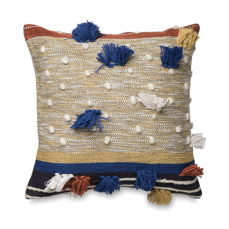 Dayo Cushion Cover W/Tassels | Citta Design $84.90. Bedroom StorageHome Living  RoomLiving ...