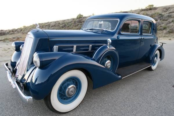 1936 Pierce Arrow 1601 Club Sedan Sedan Auto Repair Auto Body Shop