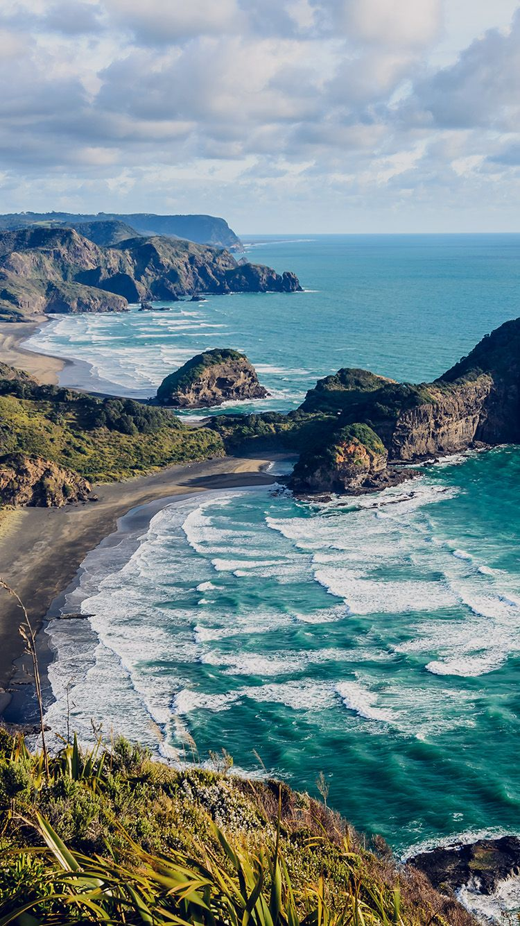 Mn69 Sea Ocean View Water New Zealand Nature In 2019 Ocean