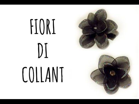 Fiori Con I Collant Riciclo Creativo Arte Per Te Youtube