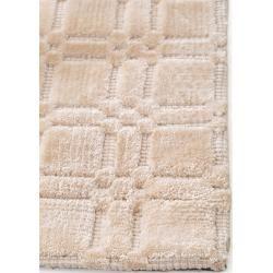 Photo of benuta Naturals Viskoseteppich Nelson Cream 300×400 cm – Moderner Teppich für Wohnzimmer benuta