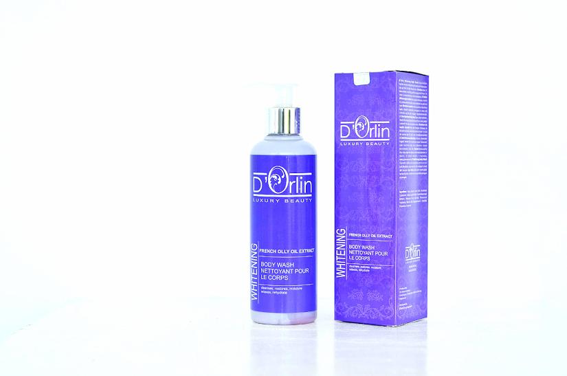 D`Orlin Body Skin Care perawatan badan menggunakan bahan