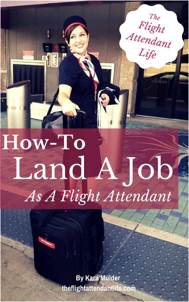 how to Get A job as a flight attendant