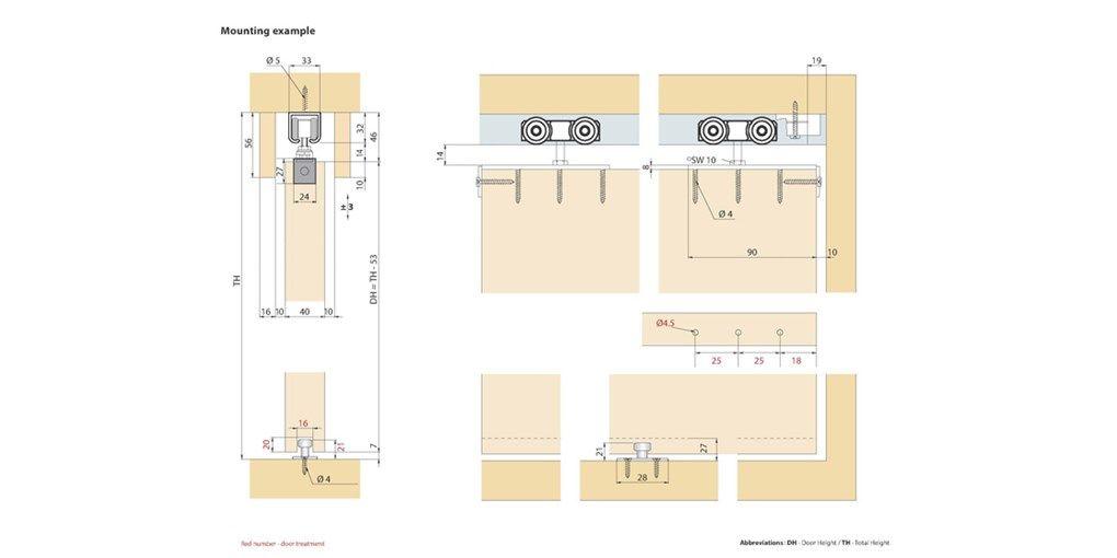 Wooden Sliding Folding Door Detail - Home Decor | Diplomka ...