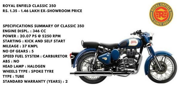 Top 10 Selling Bikes Of India Royal Enfield Bullet 350cc With