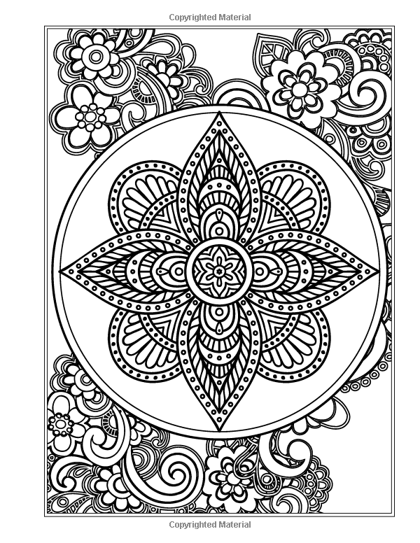 Amazon com the garden mandala an adult coloring book eclectic coloring books
