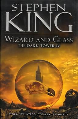 The Dark Tower IV: Wizard and Glass- So far I have found this one to be the best out of the series.
